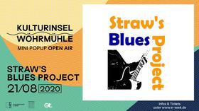 Bild: STRAW'S BLUES PROJECT - Benefizkonzert zur Unterstützung der Kulturarbeit des Vereins Kulturbühne Strohalm e.V.