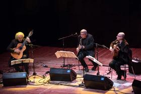 Bild: Jazzfestival   Mirabassi, Nando Di Modugno, Pierluigi Balducci