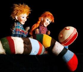 Bild: Die drei Kinder und die Schlange Lilli