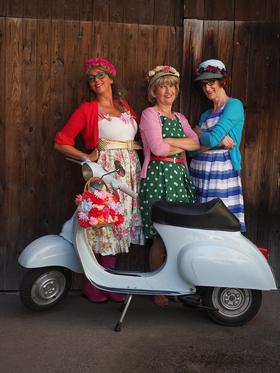 Bild: Die Drei vom Dohlengässle - Glück isch Glücksach