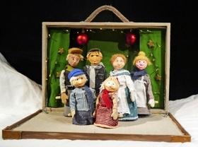 Bild: Michel feiert Weihnachten - Figurentheater Pantaleon