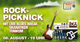 Bild: Magdeburger Kultur Picknick - Live Blues Break, SKAnatiker und Tonikum – Rock-Picknick
