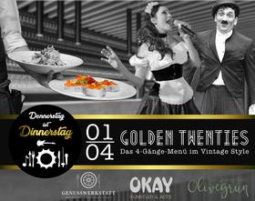 Bild: Donnerstag ist Dinnerstag - Dinner-Show Golden Twenties