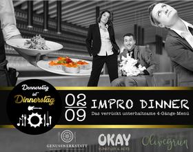 Bild: Donnerstag ist Dinnerstag - Dinner-Show Impro Dinner