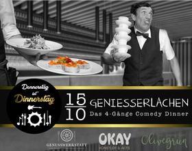 Bild: Donnerstag ist Dinnerstag - Dinner-Show Geniesserlachen