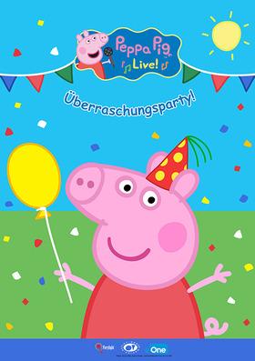 Bild: Peppa Pig: ERSATZTERMIN: HIER KÖNNEN NEUE KARTEN ERWORBEN WERDEN - Die Überraschungsparty