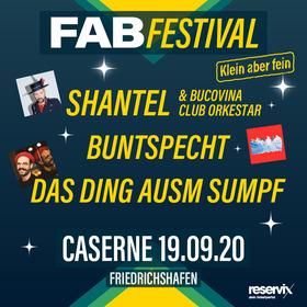 Bild: FAB Festival 2020 - klein, aber fein: Festival Samstag