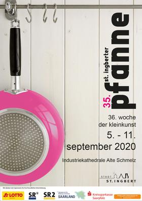 Bild: 36. Woche der Kleinkunst - St. Ingberter Pfanne 2020 - Preisverleihung