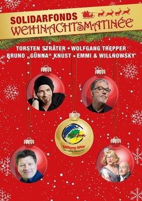 Bild: Solidarfonds Weihnachtsmatinée präsentiert: - STRÄTER • TREPPER • GÜNNA • E&W
