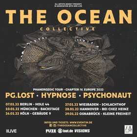 THE OCEAN - PHANEROZOIC TOUR - CHAPTER IV, EUROPE 2021