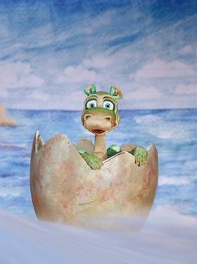 Bild: Urmel schlüpft aus dem Ei - Wirrwarrwitziges Figurentheater mit einem der liebenswertesten Geschöpfe der deutschen Kinderliteratur