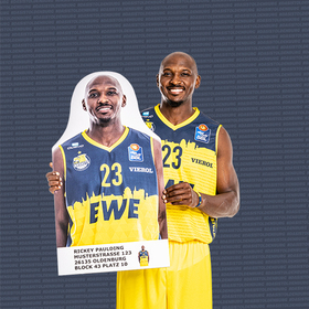 Bild: PAPPLIKUM beim EWE Baskets Day 2020