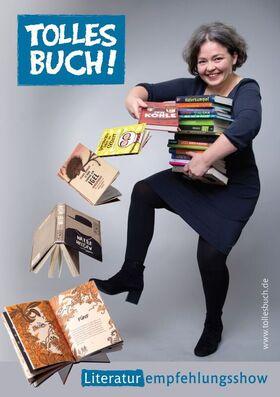 Bild: 37. Baden-Württembergische Literaturtage 2020 - Tina Kemnitz: Tolles Buch- Buchempfehlungsshow