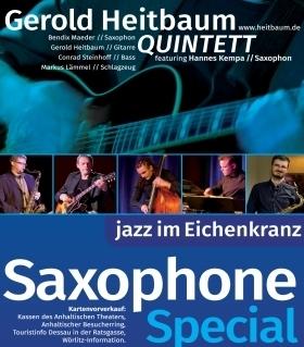 """Bild: Jazz im Eichenkranz """"Saxophone Special"""""""