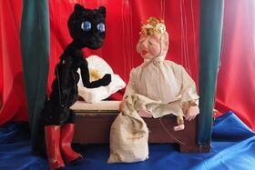 Bild: Knurps Puppentheater: Der gestiefelte Kater - Für Kinder ab 4 Jahren