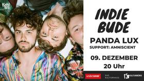 Bild: INDIE BUDE | Panda Lux | Support: Alexander Liebe