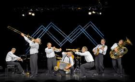 Bild: Konzert mit der Blue Wonder Jazzband - Jazz in der JohannStadthalle