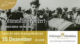 Bild: Kino in der Schlosskirche - Stummfilmkonzert