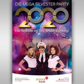 Bild: Silvester 2020 mit einer musikalischen Weltreise - RöderSaal Musikalische Weltreise ins Jahr 2021