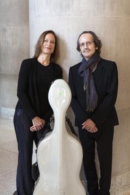 Bild: Anja Lechner & François Couturier / Rainer Böhm Quartett
