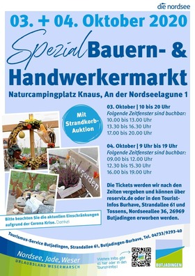 Bild: Bauern- und Handwerkermarkt 2020 - Bauern- und Handwerkermarkt 04.10.2020 16:00-19:00 Uhr