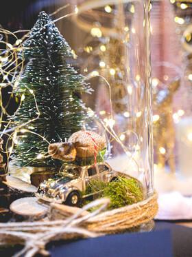 Bild: Weihnachten im Glas