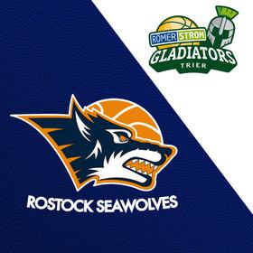 Rostock Seawolves - Römerstrom Gladiators Trier