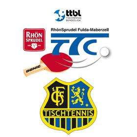 Bild: TTC RhönSprudel Fulda-Maberzell - 1. FC Saarbrücken-TT