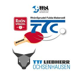 Bild: TTC RhönSprudel Fulda-Maberzell - TTF Liebherr Ochsenhausen