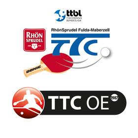 Bild: TTC RhönSprudel Fulda-Maberzell - TTC OE Bad Homburg