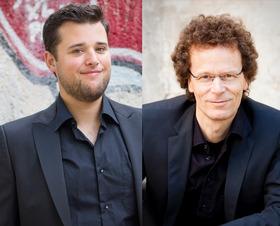 """Bild: """"Castle-in-Concert"""" im Schloss Hohendorf für die ganze Familie - Matinee """"Von Bach bis Piazzolla"""" für Geige und Percussion mit Einführung in die Instrumente Marimba und Geige"""