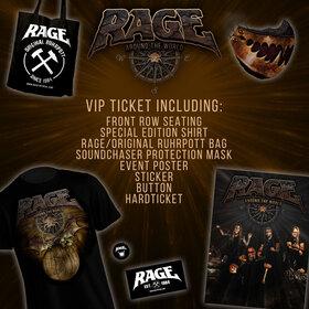 Bild: RAGE - Around The World - VIP Ticket