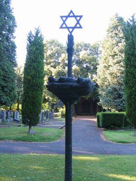 Bild: Der Friedhof am Rodtberg