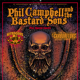 Bild: PHIL CAMPBELL AND THE BASTARDS SONS - Germany 21 Tour