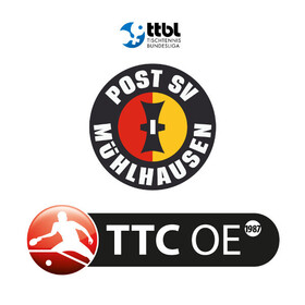Bild: Post SV Mühlhausen - TTC OE Bad Homburg