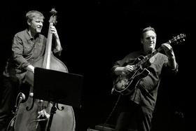 Bild: Ulf Meyer / Martin Wind Quartet feat. Alex Riel (drums) and Billy Test (piano)