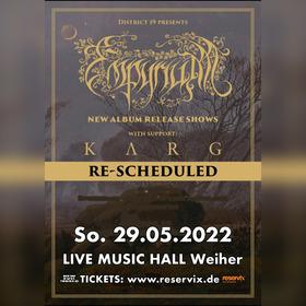 Bild: Empyrium - Album Release Tour 2021