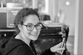 Bild: Jugend Musik Preis Leonberg 2020 - für Luisa Schwegler, Violine
