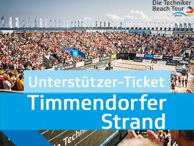 Bild: Unterstützerticket inkl. Herren Beach Trikot Timmendorfer Strand