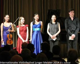 Bild: Internationales Violinfestival junger Meister | Eröffnungskonzert des Meisterkurses