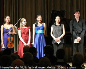Bild: Internationales Violinfestival junger Meister | Violinrecital