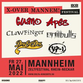Bild: X-Over Mannem Festival! mit Guano Apes, Emil Bulls, Dog Eat Dog u.a.