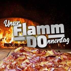 Bild: FlammDo - Flammenkuchen und Pizza frisch aus dem Holzofen!