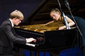 Bild: Junges Podium: Klavierduo Neeb