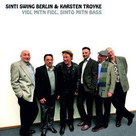 "Bild: Karsten Troyke & Sinti Swing Berlin - ""Yidl mit dem Fidl, Sinto mit dem Bass""  Jiddische Lieder im Sinti Swing"