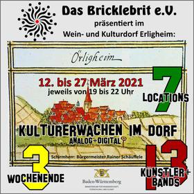 Bild: Kulturherbst im Dorf  1-Tagesticket für 12.3.2021 (+ Zweitagesticket für 12.+13..3.2021)