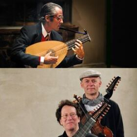 Bild: Alte Musik Gala - Doppelkonzert - Hopkinson Smith & Duo Ombra e Luce (oder nur Duo Ombra e Luce)