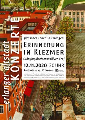 Bild: Jüdisches Leben in Erlangen - Erinnerung in Klezmer - SwingingKlezMen & Oliver Graf