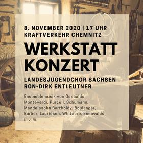 Bild: Werkstatt-Konzert im ATRIUM - Konzert des Landesjugendchores Sachsen