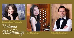 Bild: Konzert für zwei Orgeln und Violoncello